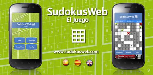 Sudokusweb, El juego - Versión Android